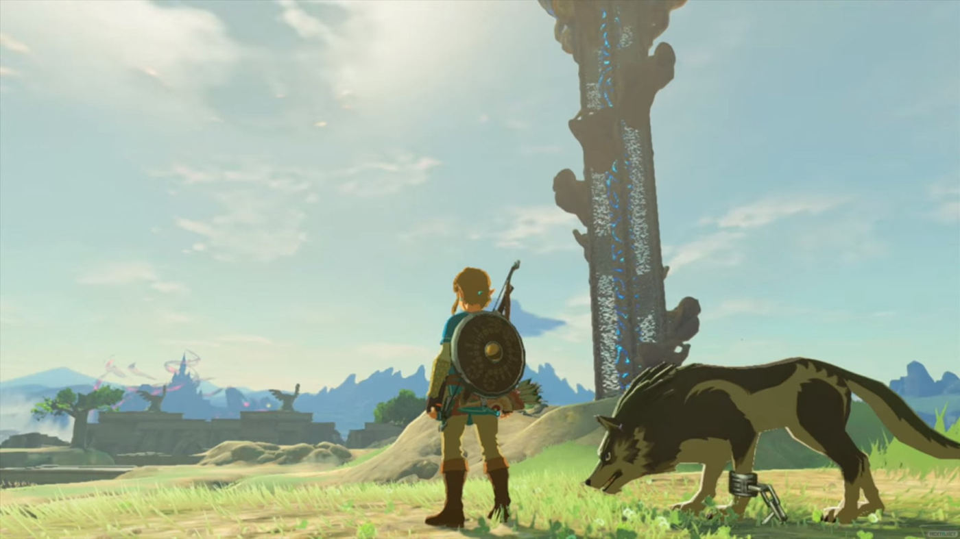 The Legend Of Zelda Breath Of The Wind Nntendo Switch