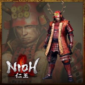 Nioh_Pre-Order_Armour_Set_Crimson_Master_1