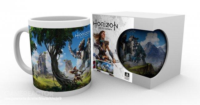 Il Merchandise Di Horizon Zero Dawn Comprende Una Tazza E L'art Book 2 - Hynerd.it
