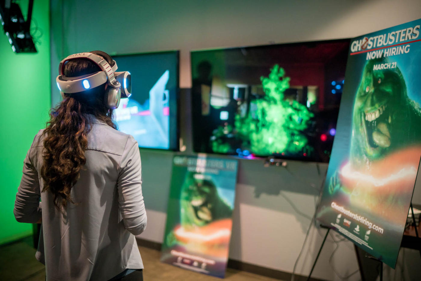 Ghostbusters Vr Now Hiring