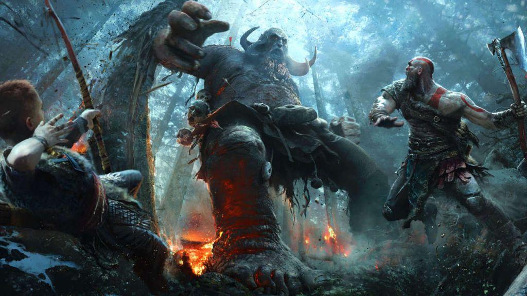 Top 5 Giochi E3 2017 - god of war 1
