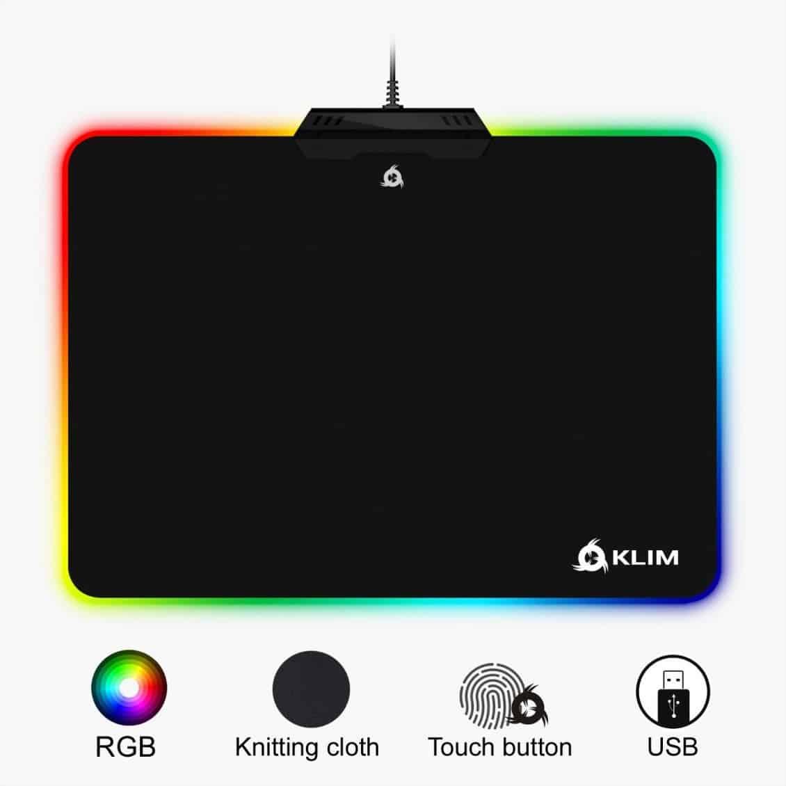 Recensione Klim RGB Mousepad Chroma - 71RGTNP83nL. SL1500