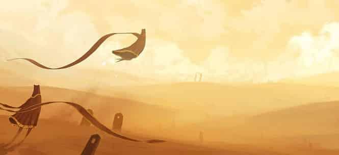 C'è chi parla d'arte... ma è solo un videogioco - journey