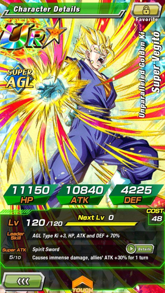 Explicit Content : Dragonball Z Dokkan battle - Super Vegito 576x1024