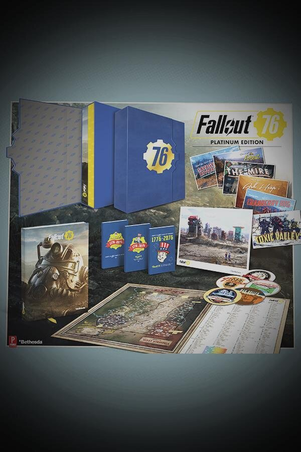 L'angolo del collezionista: l'Edizione Platino della guida strategica ufficiale di Fallout 76 - 1CFC982F D199 4E05 8DEB B9F0DD1889E3
