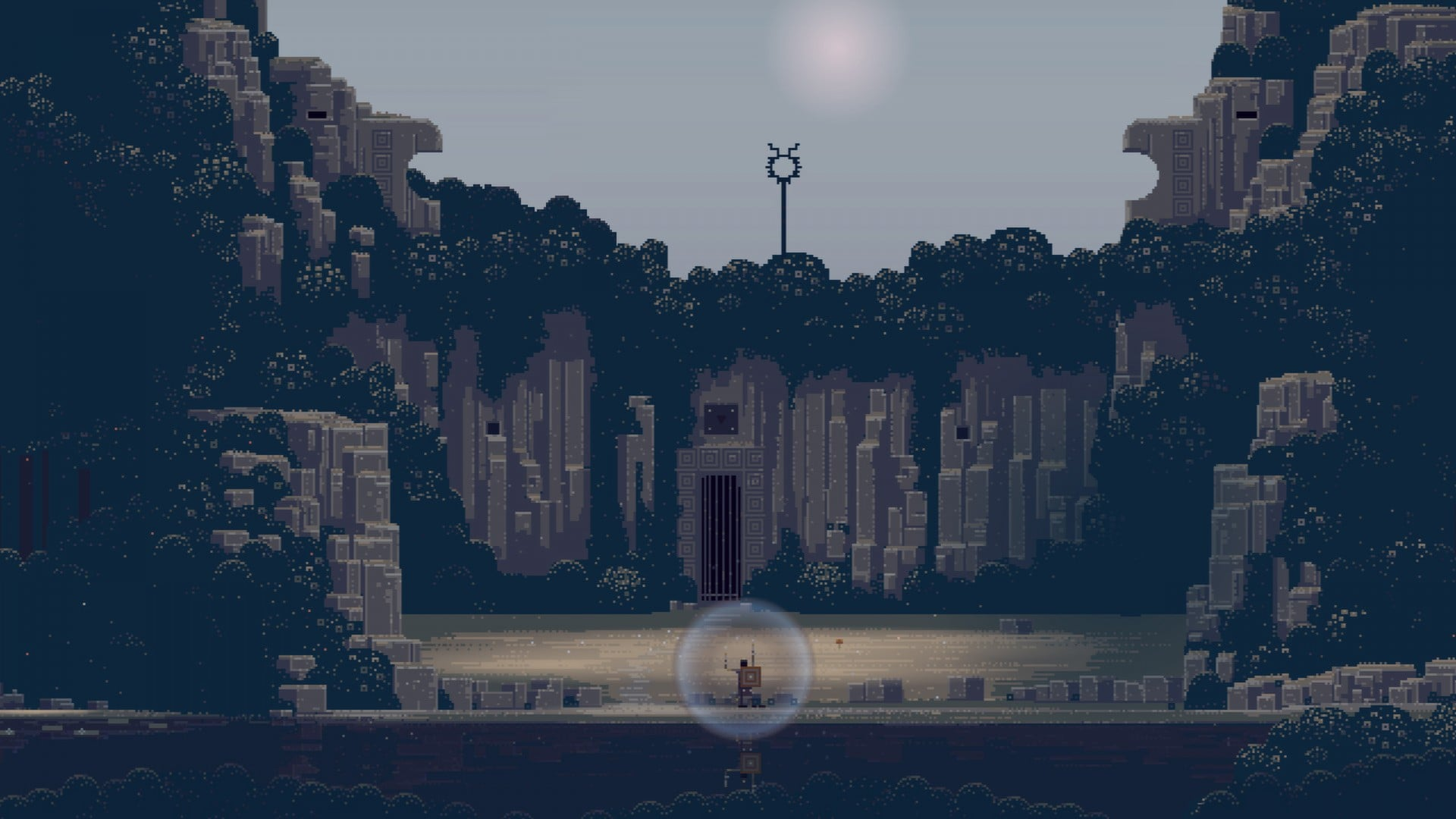 l'angolo Indie: La pixel art - galerie superbrothers sword sworcery ep 0