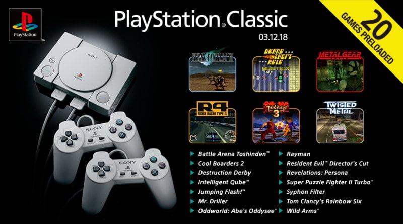 PlayStation Classic: Sony rivela la lista completa dei giochi - playstation classic jpg 800x0 crop upscale q85