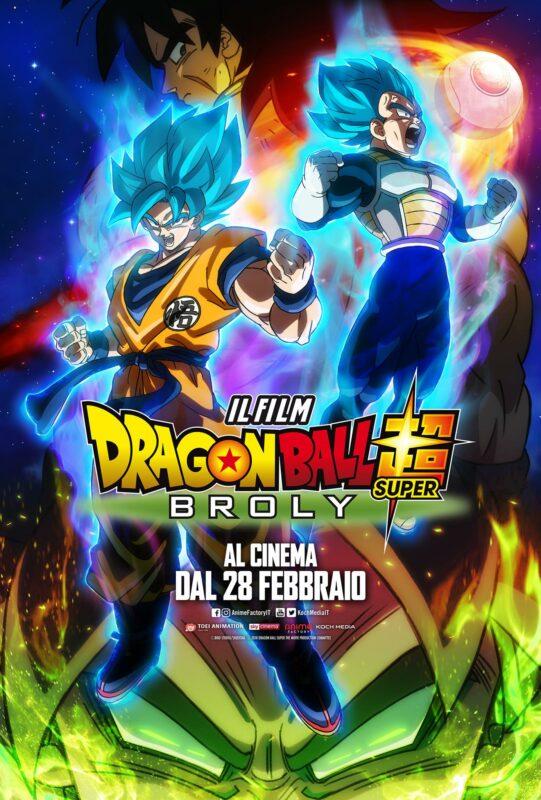 Dragon Ball Super: Broly, Anime Factory Presenta Il Secondo Trailer Ufficiale Del Film