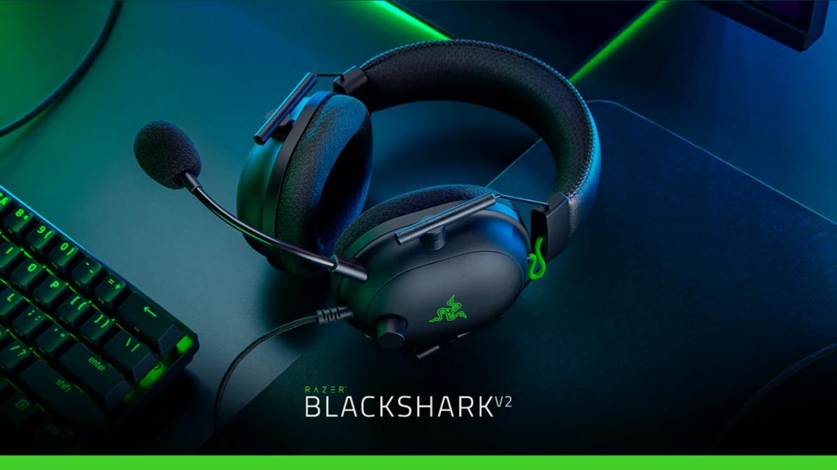 """Razer Blackshark V2: Ecco Le Cuffie Da Gaming""""Definitive"""" Per Il Mondo Esport"""