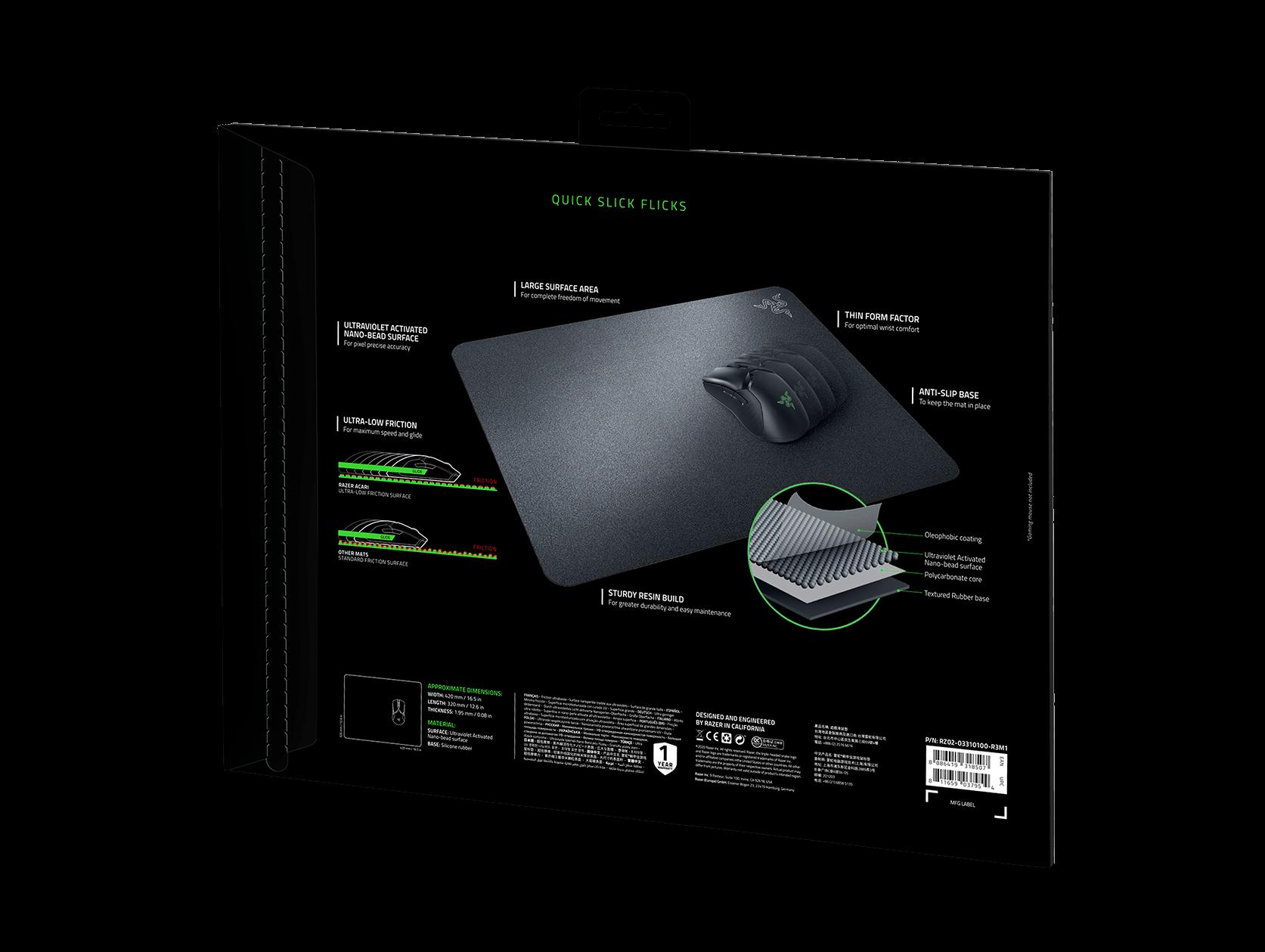 Razer Acari: Annunciato Il Mousepad &Quot;Veloce Come Un Fulmine&Quot; 2 - Hynerd.it