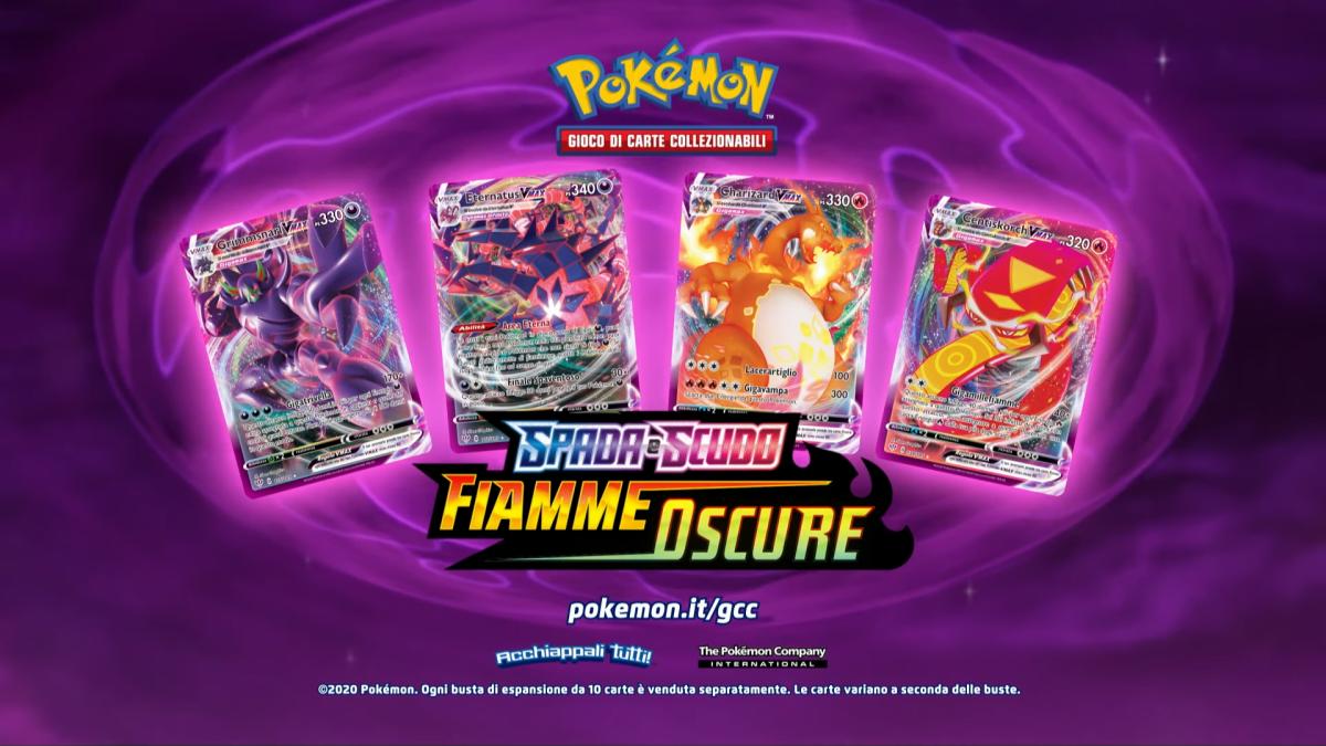 Fiamme Oscure: La Nuova Espansione Pokémon È Disponibile Dal 14 Agosto