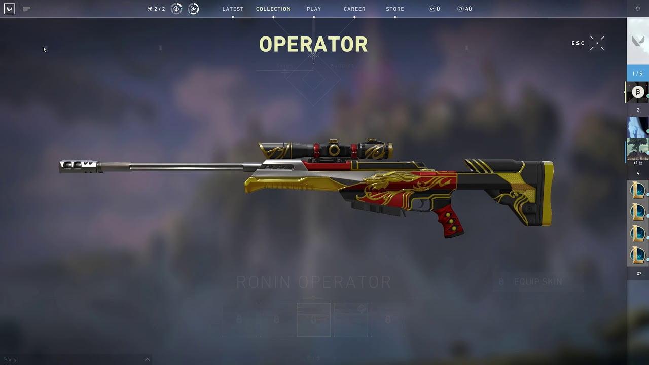 Operator In Veste Ronin