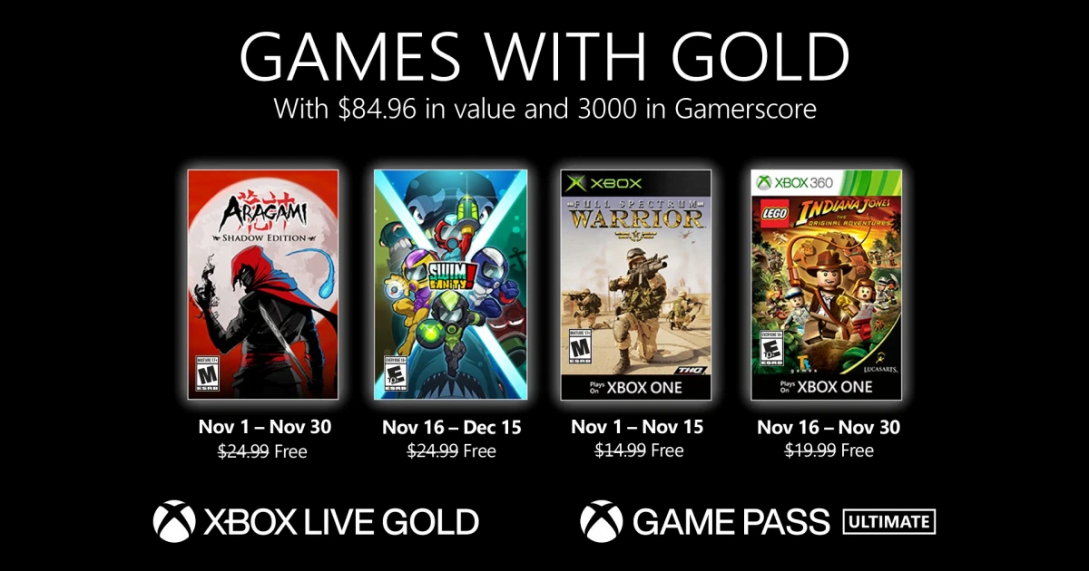 Xbox Games With Gold: Annunciati I Giochi Gratis Di Novembre 2020 2 - Hynerd.it
