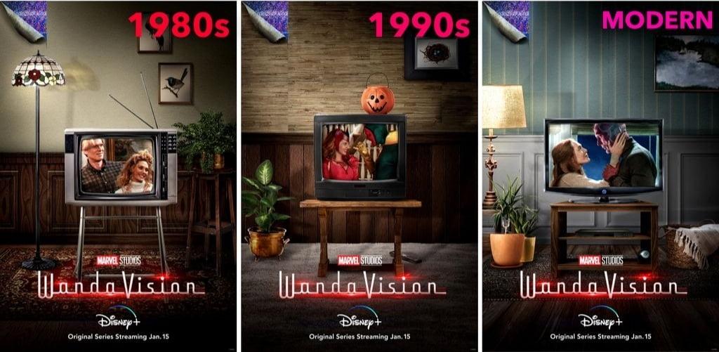 Wandavision - I Poster, Le News E I 2 Trailer 6 - Hynerd.it