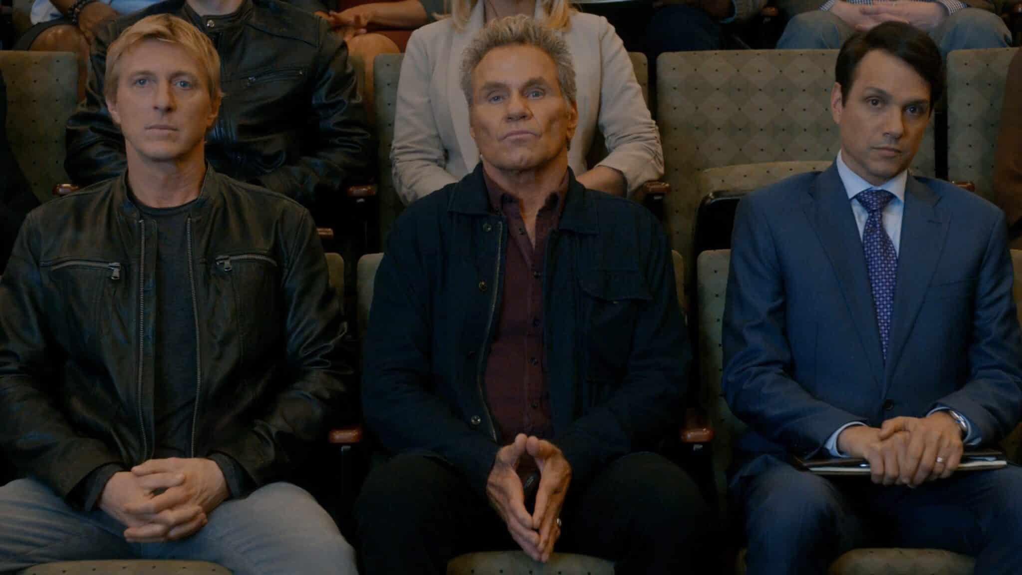 I Tre Protagonisti Di Questo Cobra Kai 3 Su Netflix.