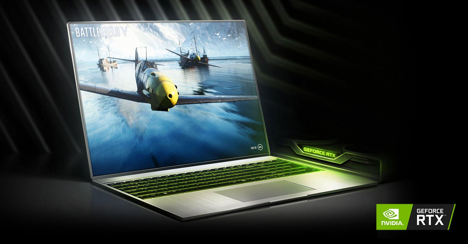 Nvidia RTX serie 3000 disponibile per pc portatili da gaming