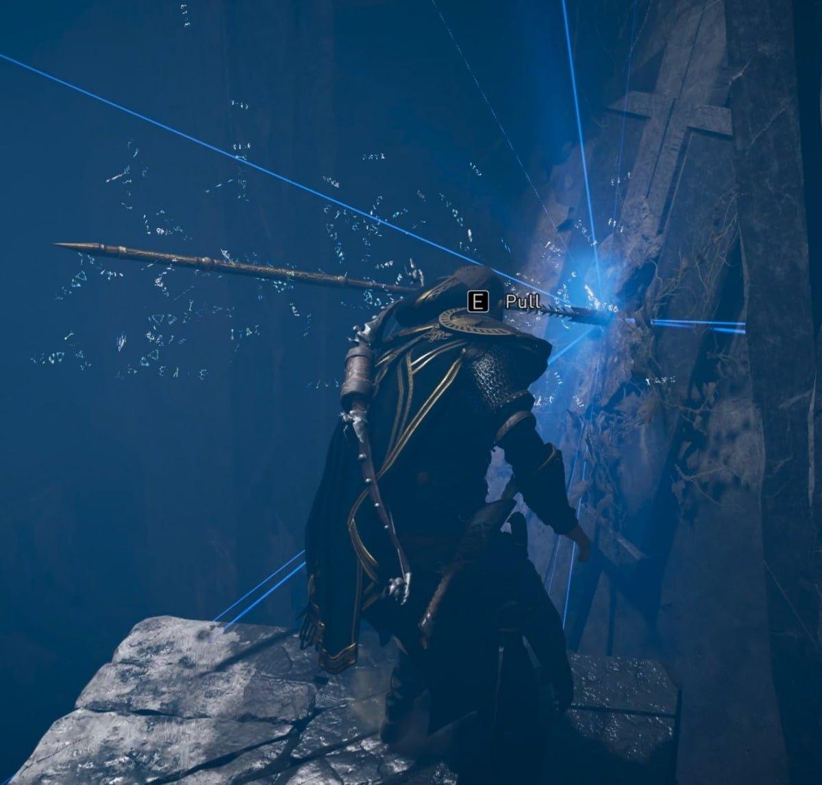 Lancia Di Odino Nella Grotta