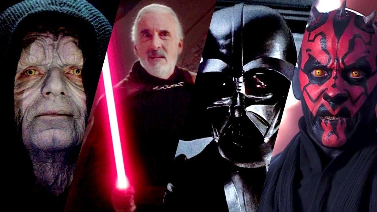 I Sith Nella Trilogia Di Star Wars