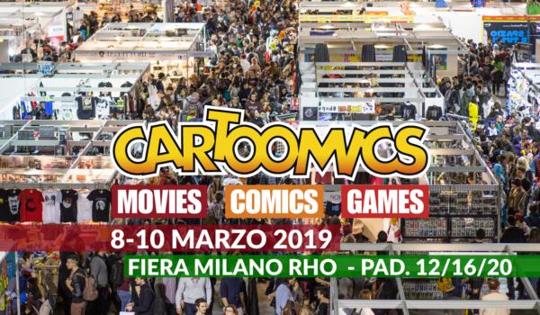 Ospiti Ed Eventi Al Cartoomics 2019 7 - Hynerd.it