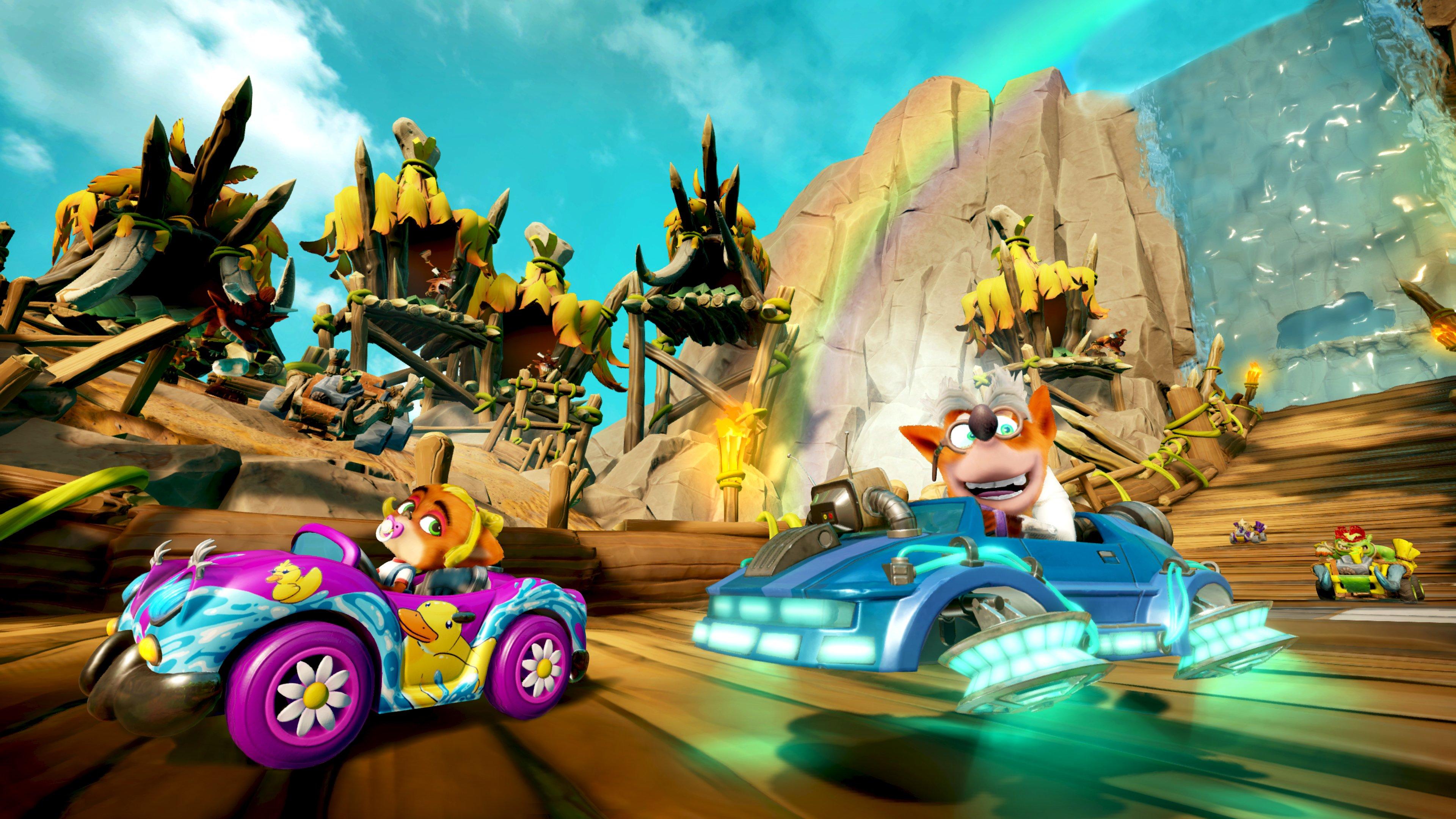 "Crash Team Racing Nitro-Fueled Annuncia ""Back N. Time"" Nel Prossimo Grand Prix! 3 - Hynerd.it"