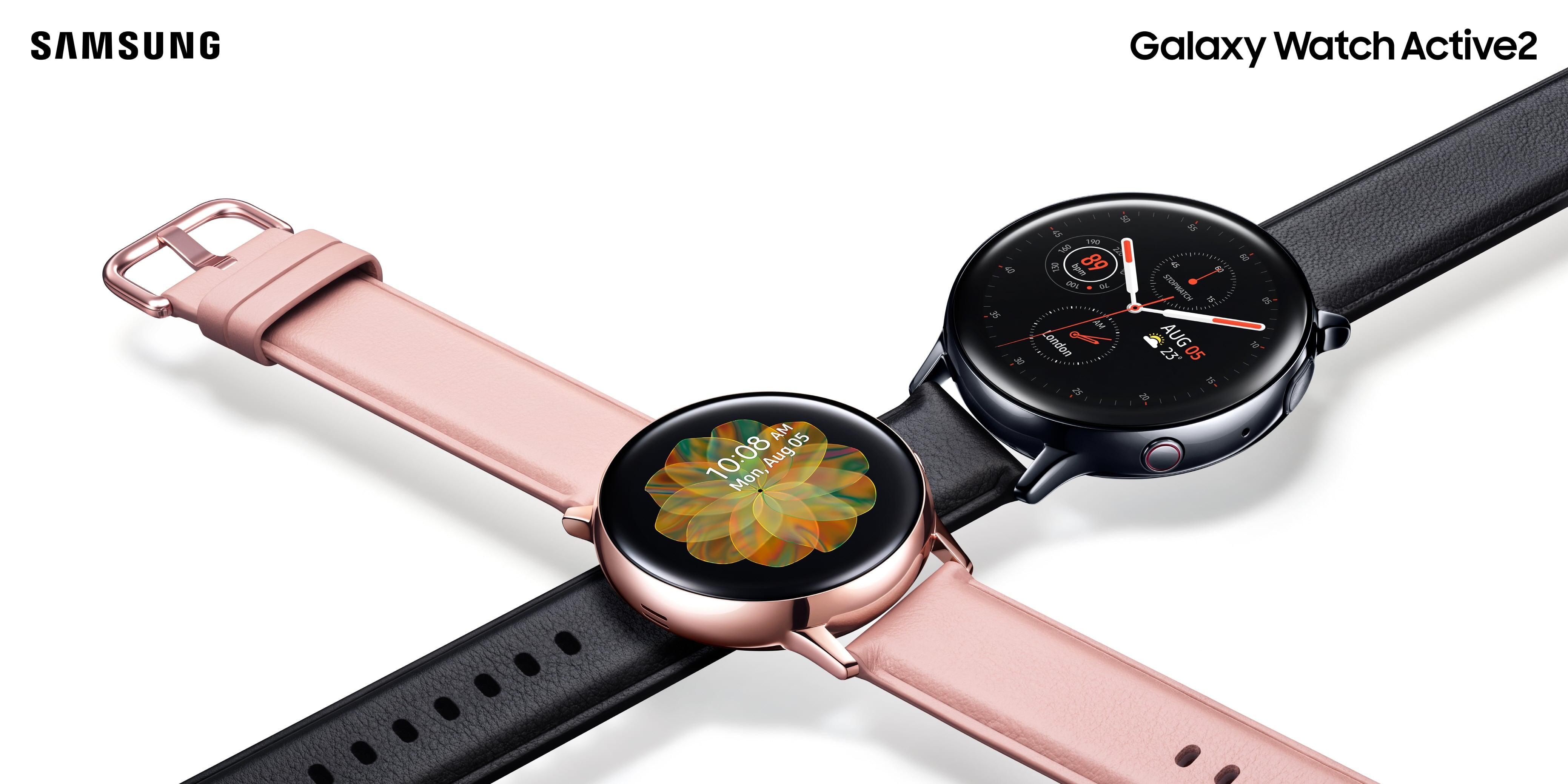 La famiglia Galaxy si amplia! Presentato il nuovo Galaxy Watch Active2 2