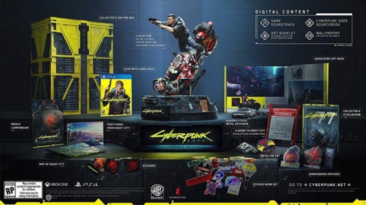 Svelata La Collector Edition Per Cyberpunk 2077 In Uscita Il 16 Aprile 2020
