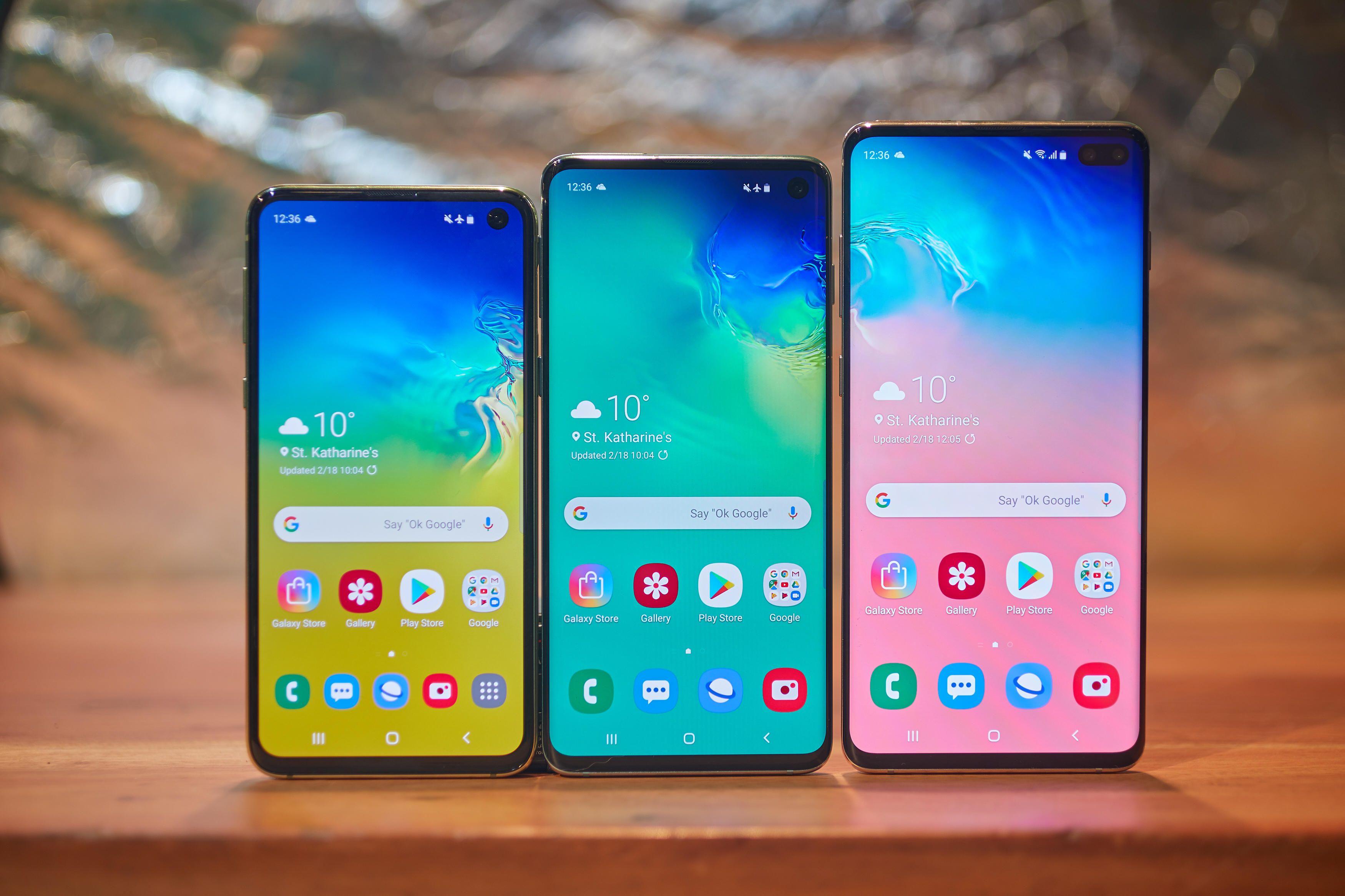 Ecco i nuovi Samsung Galaxy S10e, S10, S10+ ed S10 5G